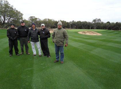 Figura 5 – Visita técnica – Campo de golf em San Antonio, Texas.